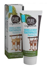 Load image into Gallery viewer, Pure Beginnings - Vanilla Mint Toothpaste Fluoride Free (75ml) - SEEDS OF KINDNESS