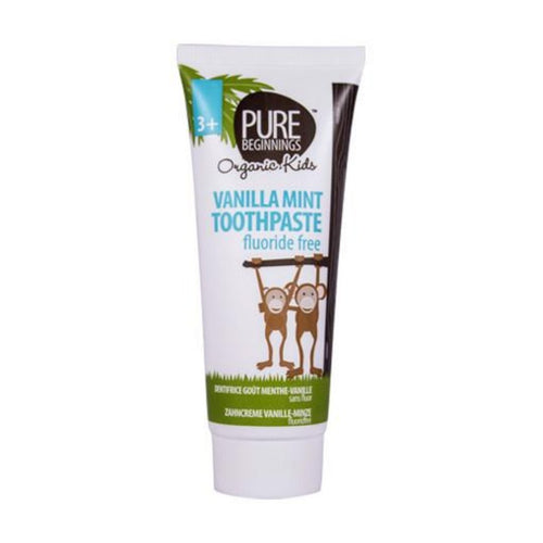 Pure Beginnings - Vanilla Mint Toothpaste Fluoride Free (75ml) - SEEDS OF KINDNESS