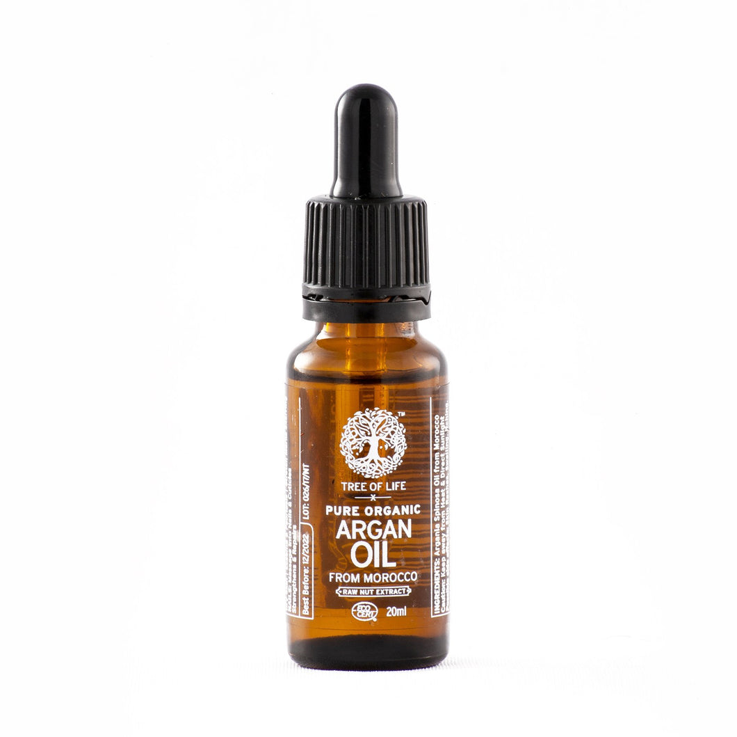 TREE OF LIFE - 100% Pure Organic Cold Pressed Argan Oil (20ml) - SEEDS OF KINDNESS