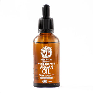 TREE OF LIFE - 100% Pure Organic Cold Pressed Argan Oil (50ml) - SEEDS OF KINDNESS
