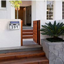 Load image into Gallery viewer, LED Solar House Number