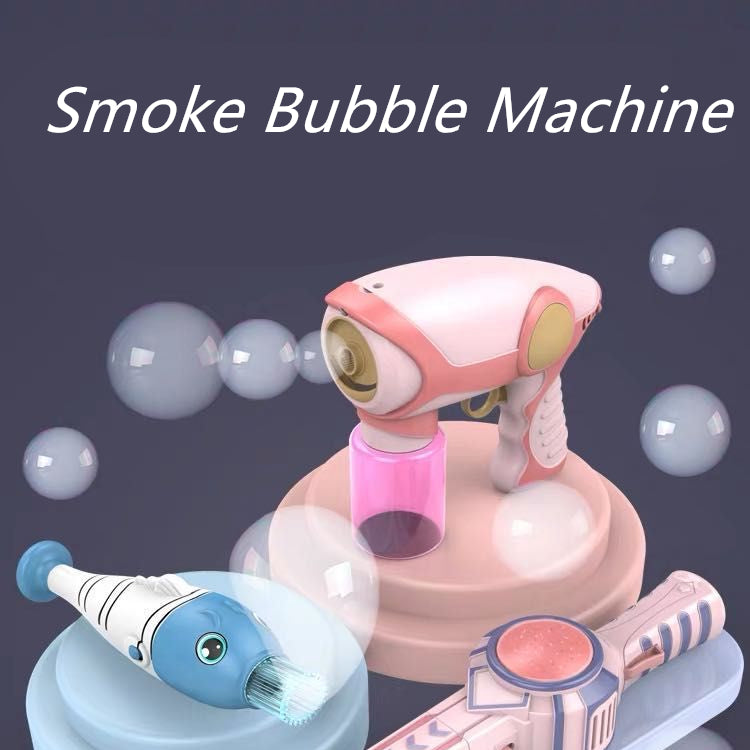 Smoke Bubble Machine