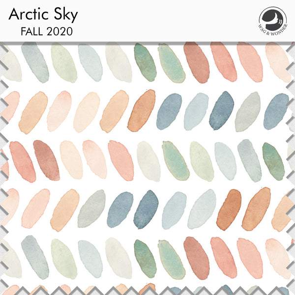 Arctic Sky Fabric Swatch from Fall 2020