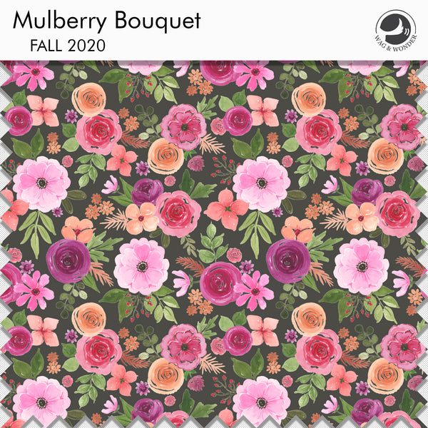 Mulberry Bouquet Fabric Swatch from Fall 2020