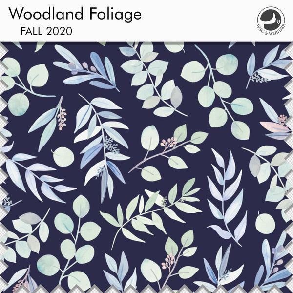 Woodland Foliage Fabric Swatch from Fall 2020 Collection