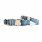 Velvet Misty River Classic Dog Collar