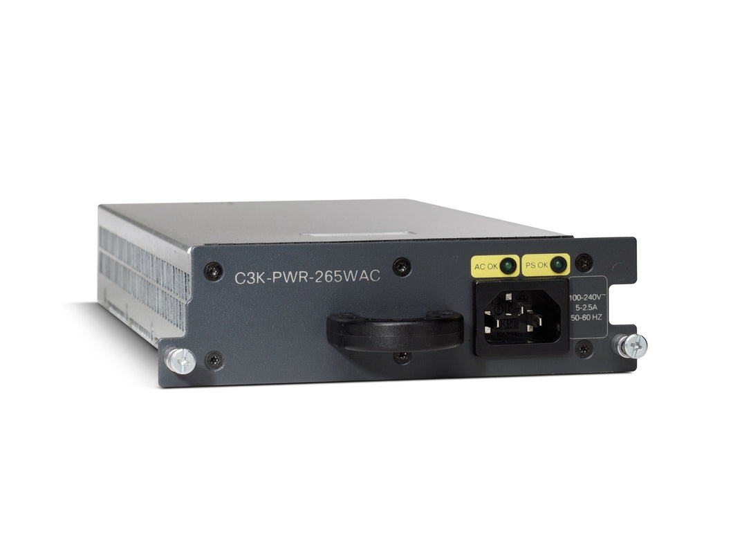 Cisco Systems C3K-PWR-265WAC - Esphere Network GmbH - Affordable Network Solutions