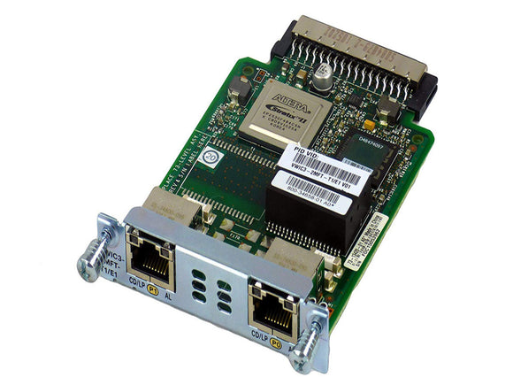 Cisco Systems VWIC3-2MFT-G703 - Esphere Network GmbH - Affordable Network Solutions
