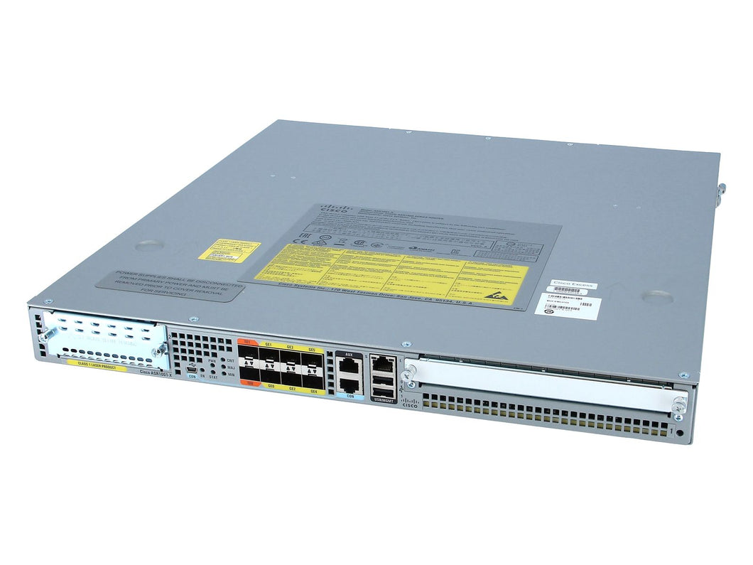 ASR1001X-2.5G-K9 - Esphere Network GmbH - Affordable Network Solutions
