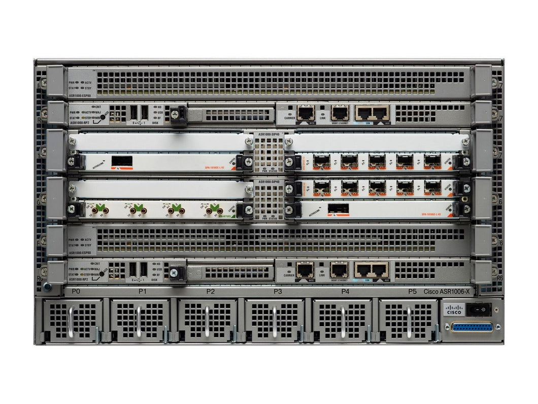 ASR1006-10G-SEC/K9 - Esphere Network GmbH - Affordable Network Solutions