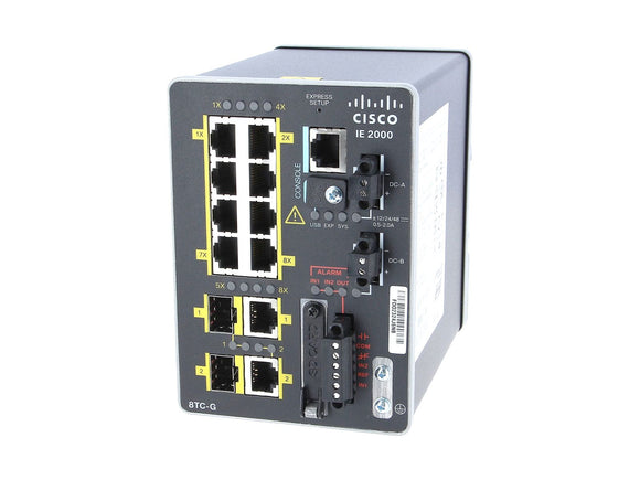 IE-2000-8TC-G-B - Esphere Network GmbH - Affordable Network Solutions