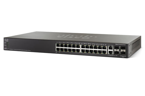 Cisco SG500-28P-K9 - Esphere Network GmbH - Affordable Network Solutions