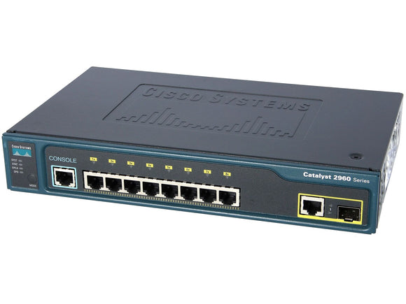 WS-C2960-8TC-L - Esphere Network GmbH - Affordable Network Solutions