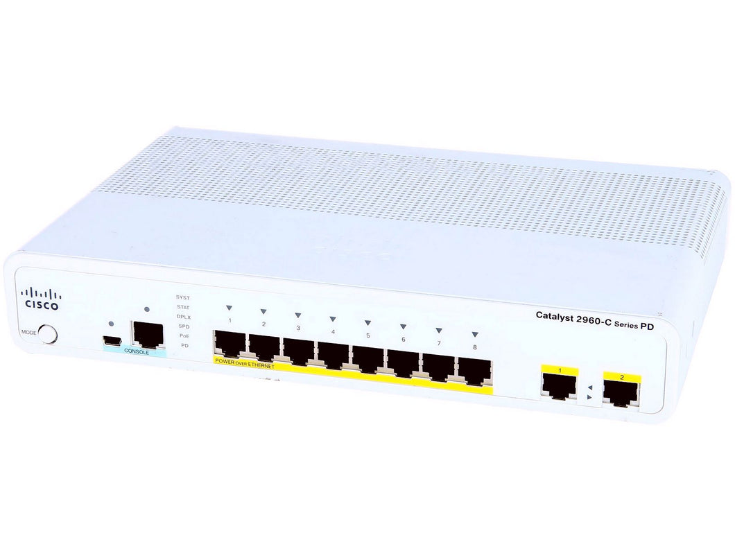 CISCO WS-C2960CPD-8PT-L - Esphere Network GmbH - Affordable Network Solutions