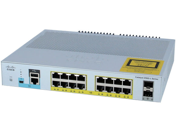 CISCO WS-C2960L-16PS-LL - Esphere Network GmbH - Affordable Network Solutions