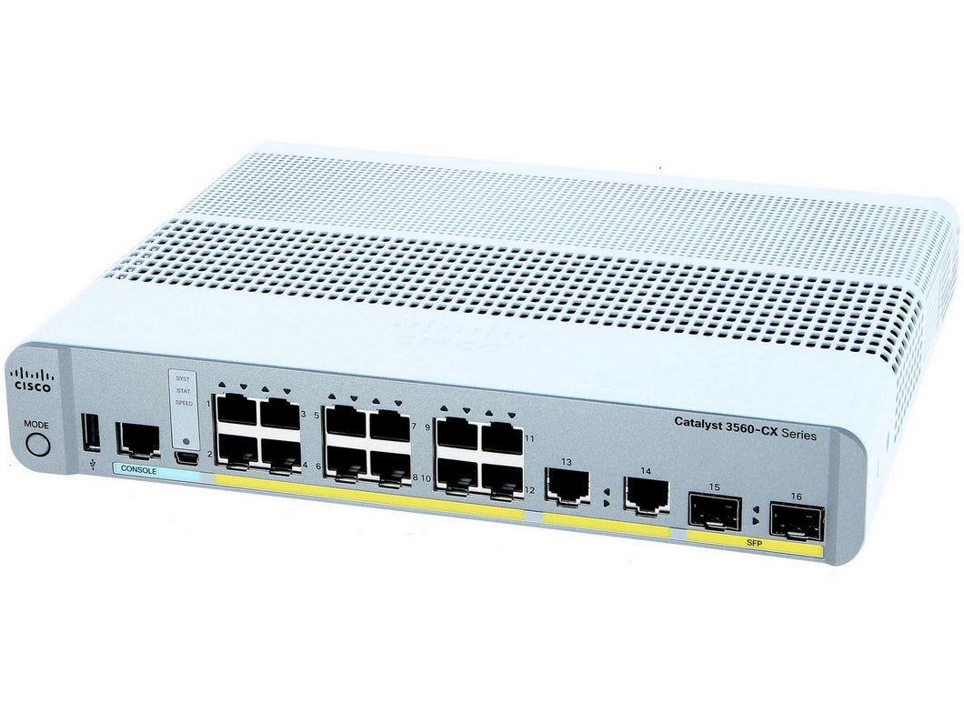 CISCO WS-C3560CX-12PC-S - Esphere Network GmbH - Affordable Network Solutions