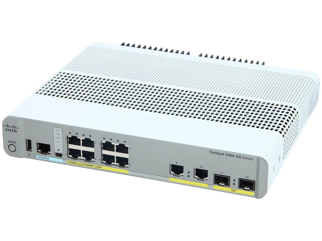 CISCO WS-C3560CX-12PD-S - Esphere Network GmbH - Affordable Network Solutions