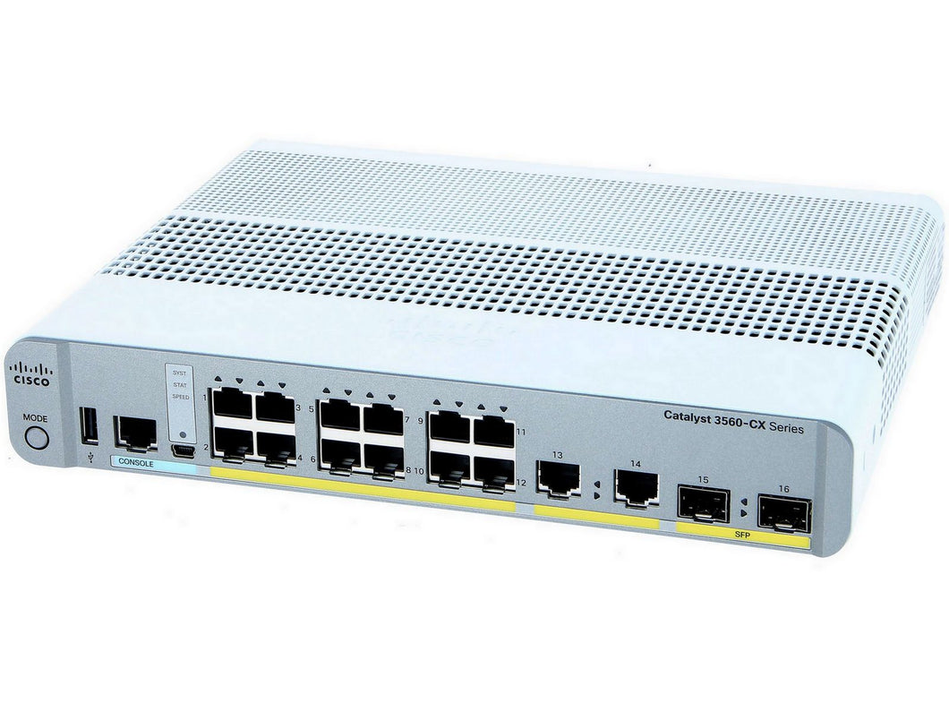 CISCO WS-C3560CX-12TC-S - Esphere Network GmbH - Affordable Network Solutions