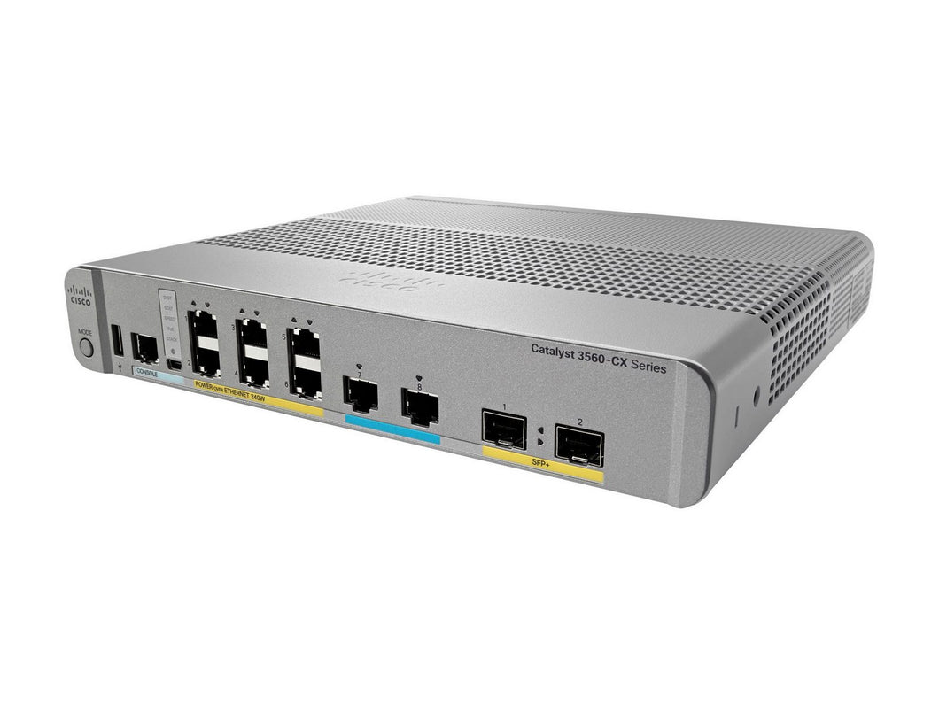 CISCO WS-C3560CX-8XPD-S - Esphere Network GmbH - Affordable Network Solutions