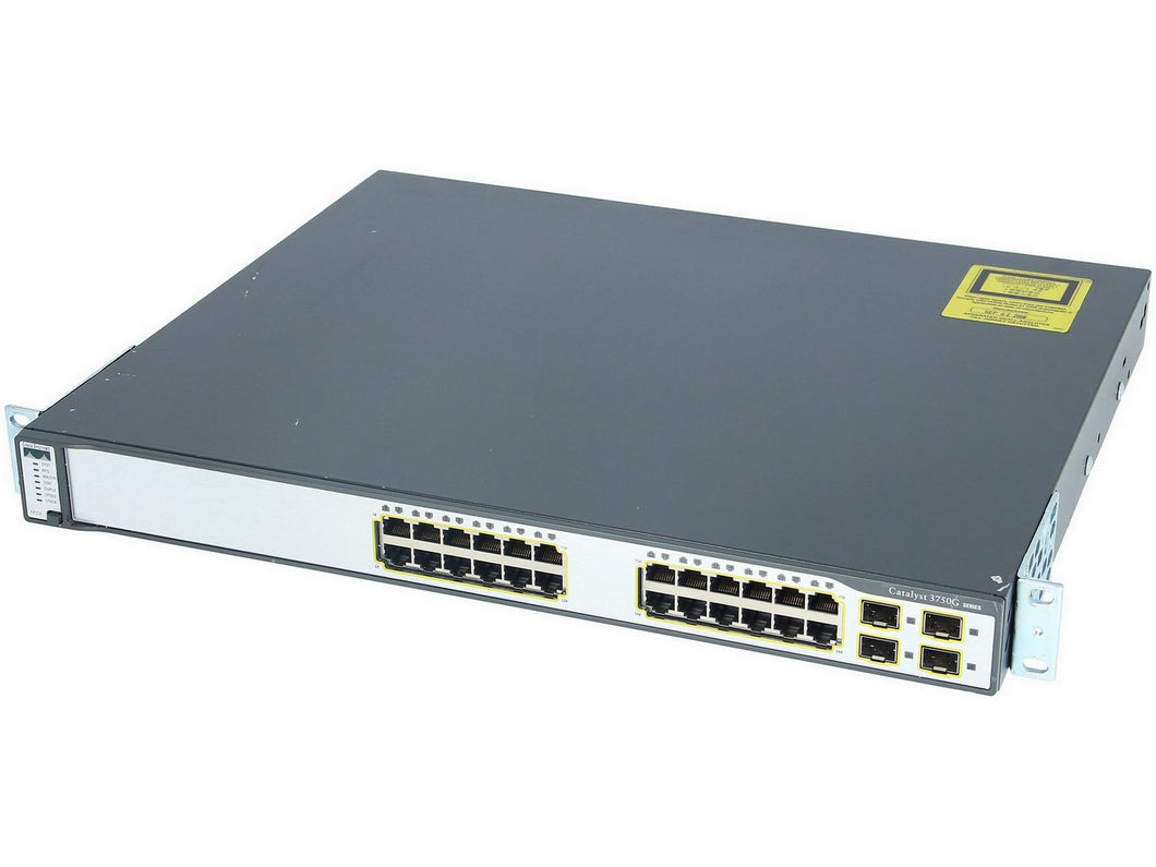 Cisco WS-C3750G-24TS-E1U - Esphere Network GmbH - Affordable Network Solutions