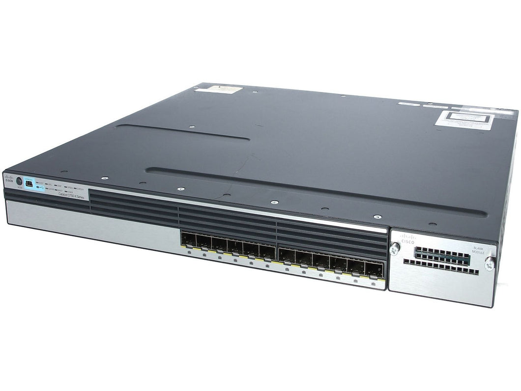 Cisco WS-C3750X-12S-E - Esphere Network GmbH - Affordable Network Solutions