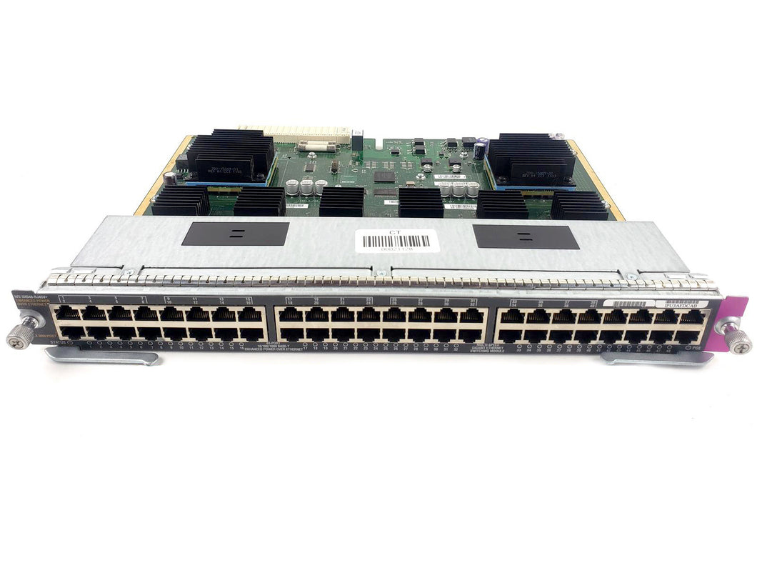WS-X4548-RJ45V+ - Esphere Network GmbH - Affordable Network Solutions