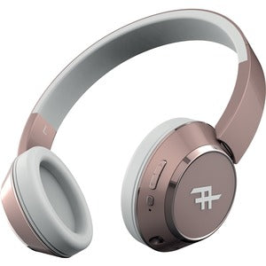 Ifrogz Audio - Coda Wireless Bluetooth Headphone with Mic - Rose Gold