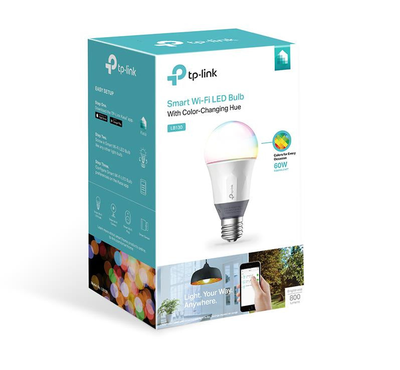 TP-LINK  SMART WI-FI COLOUR LED BULB
