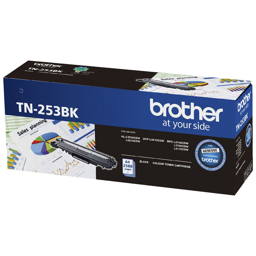 Brother TN-253 Black Toner Cartridge