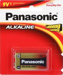 PANASONIC ALKALINE 9V BATTERY