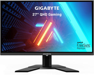 "Gigabyte Gaming, 27"", IPS, 144Hz, 1ms(MPRT), 1920x1080, 2xHDMI, 1xDP, 2xUSB3.0, 1xUSB-C, VESA 100x100mm, 61W, Height Adjustment 130mm, 3 Years Warranty"