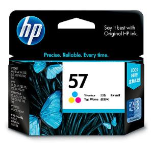 HP 57 TRI COLOUR INK CARTRIDGE