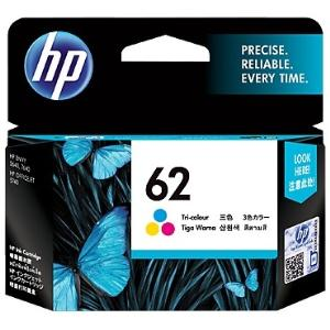 HP 62 TRI-COLOUR INK CARTRIDGE