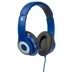 Verbatim OVER-EAR CLASSIC AUDIO HEADPHONES - BLUE