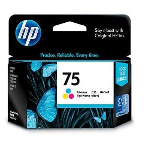 HP 75 COLOUR INK CARTRIDGE