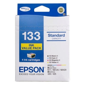 Epson 133 CMYK Ink Cartridge Value Pack