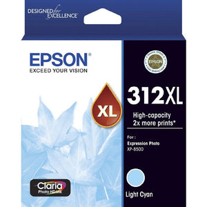 Epson 312XL Light Cyan Ink Cartridge