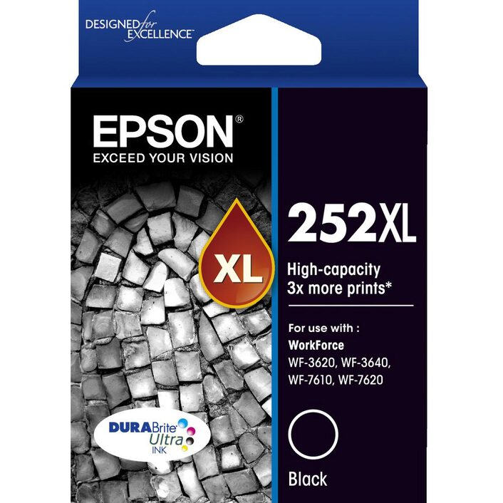 Epson 252XL Black Ink Cartridge