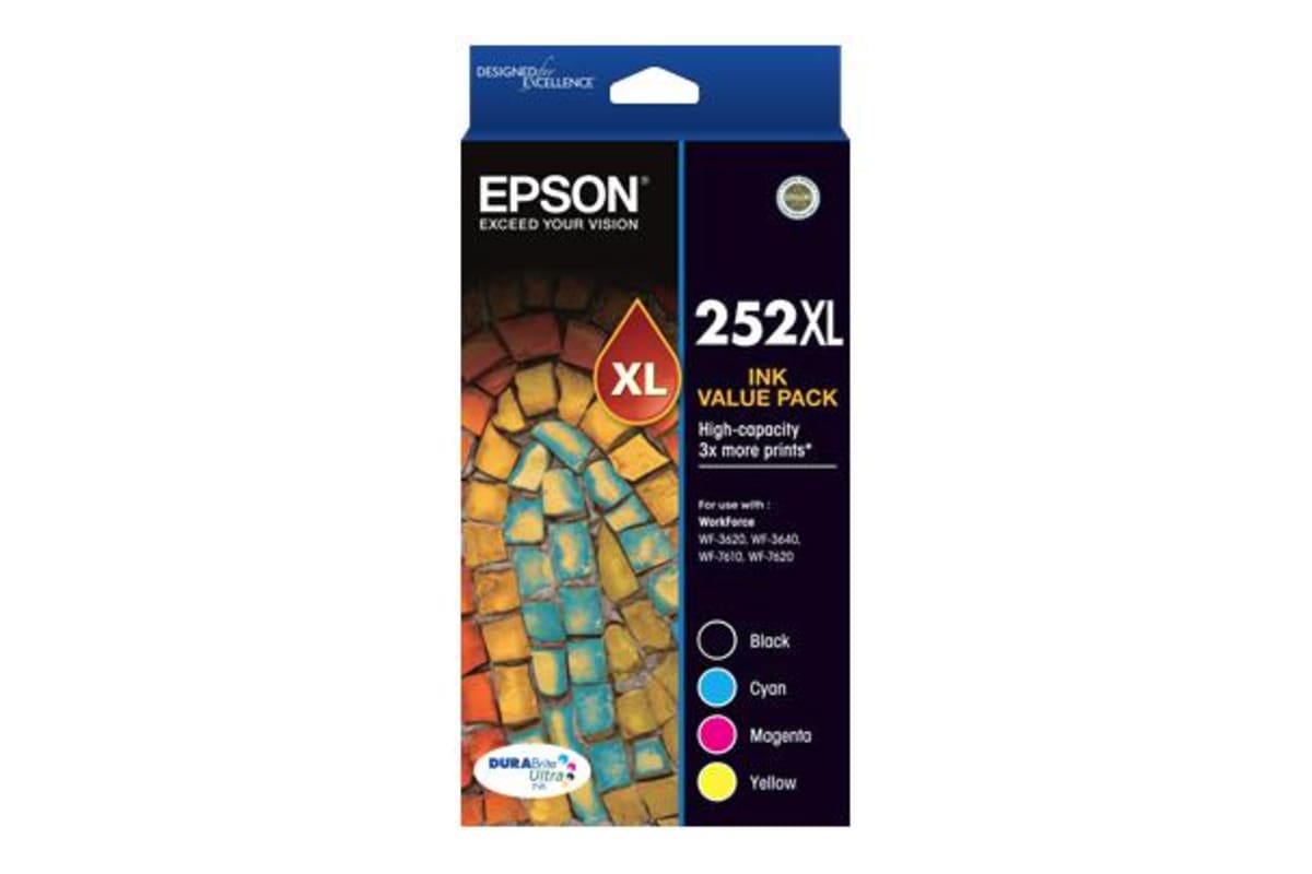 Epson 252XL Ink Value Pack