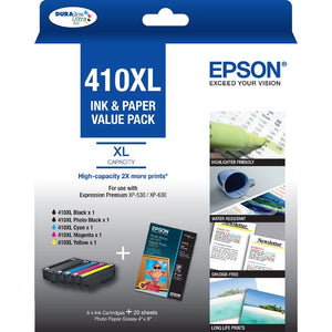 Epson 410XL Photo Ink Value Pack