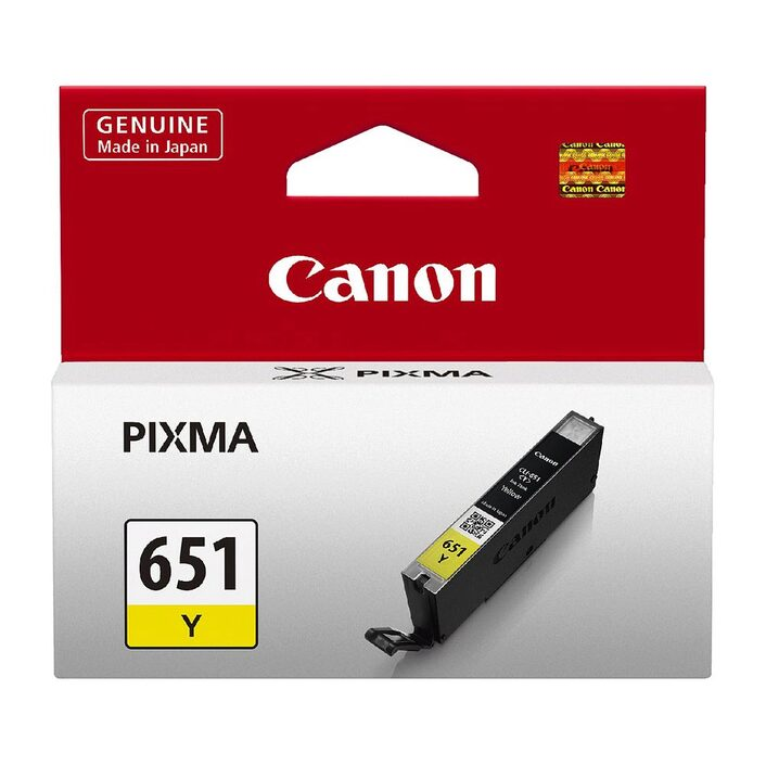 Canon PGI-651 Yellow Ink Cartridge