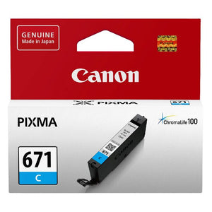 Canon CLI-671 Cyan Ink Cartridge