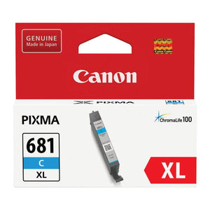 Canon CLI-681XL Cyan Ink Cartridge