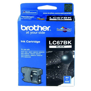 Brother LC-67 Black Ink Cartridge