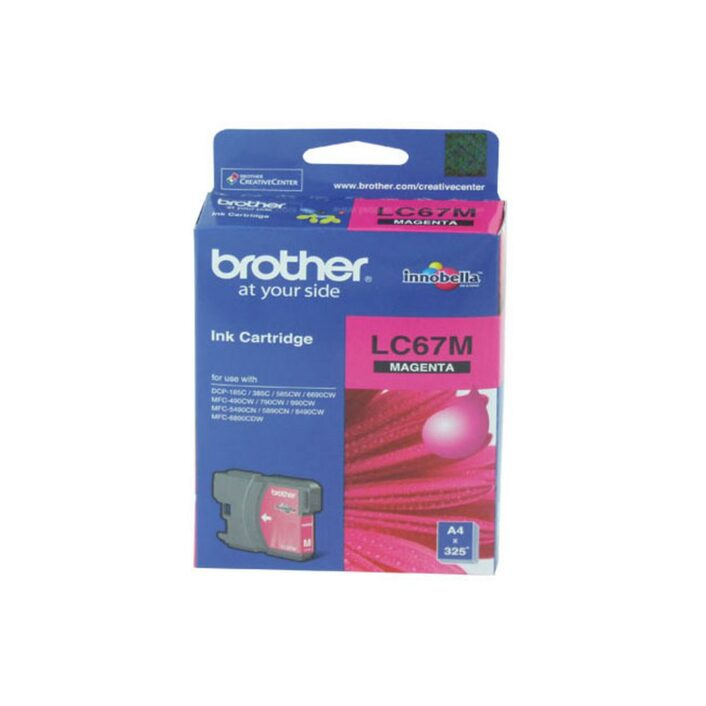 Brother LC-67 Magenta Ink Cartridge