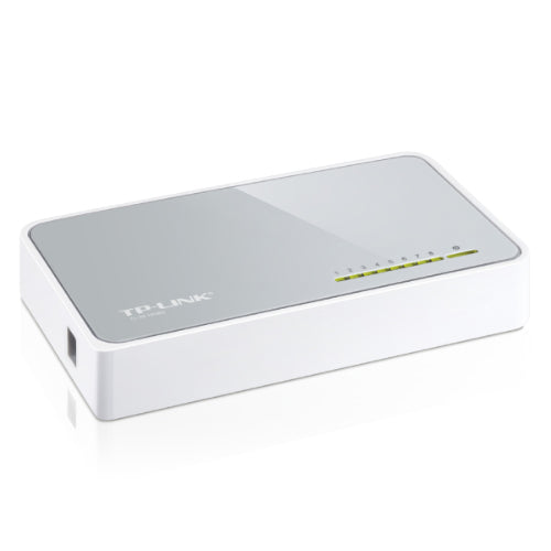 TP-Link SF1008D 8 Port Switch 10/100Mbps Desktop Plastic case