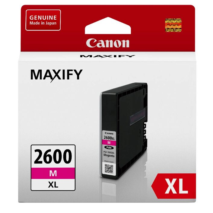 Canon PGI-2600XL Magenta Ink Cartridge