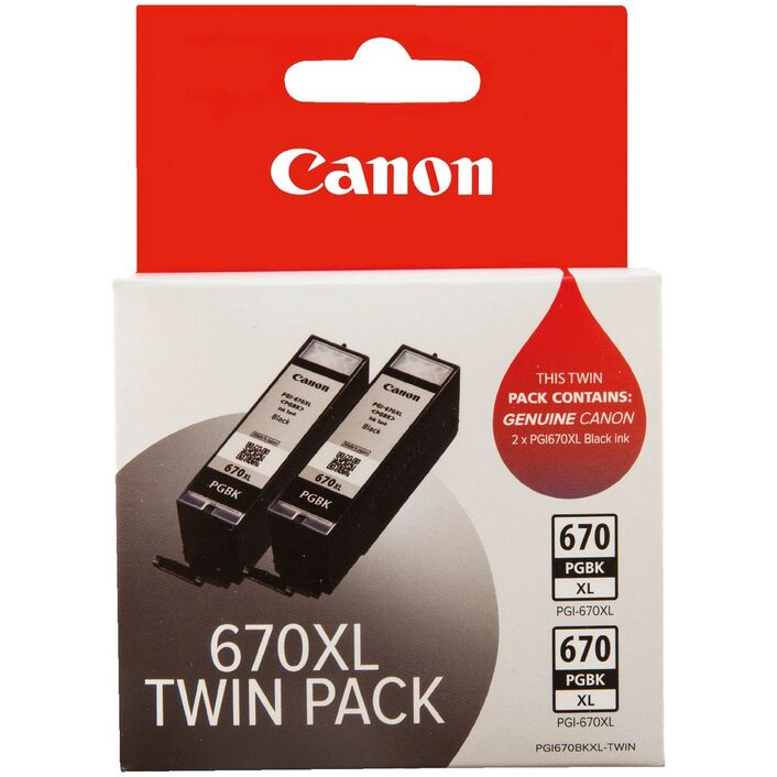 Canon CLI-670 Twin Pack