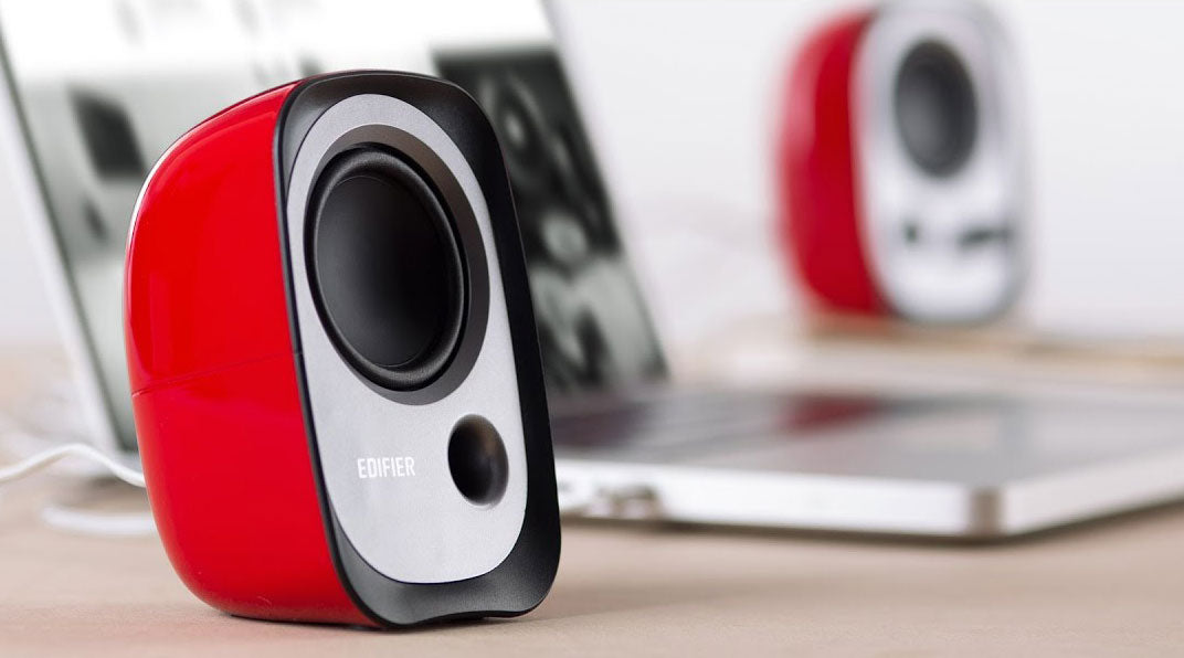 Edifier R12U Multimedia Speaker - Red