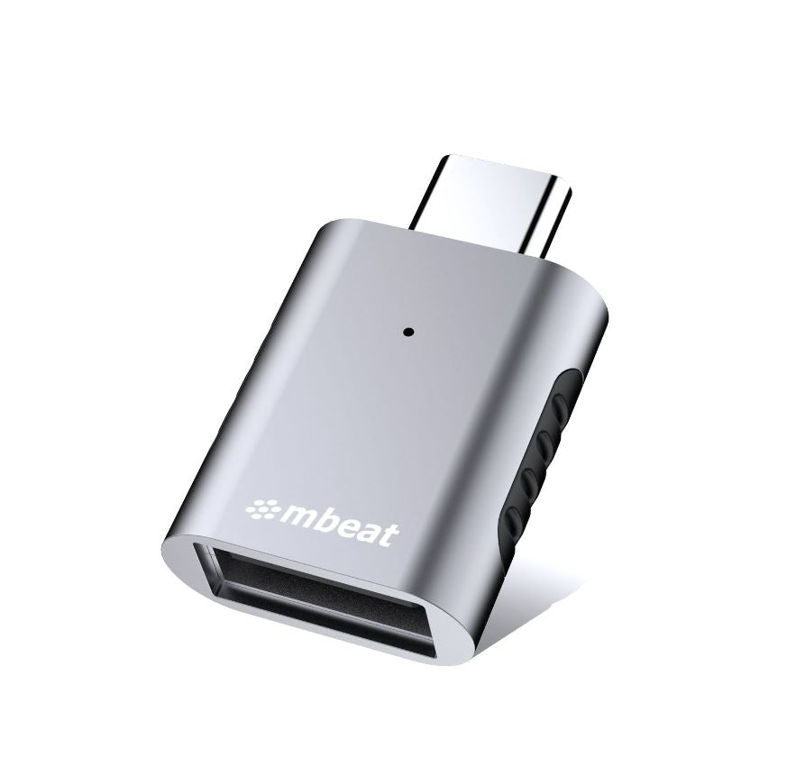 "mbeat ""Elite"" X1 USB-C to USB-A Adapter"